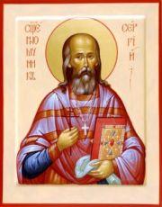 Сергий Увицкий (рукописная икона)