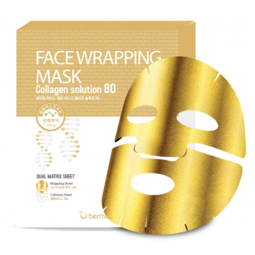 Корейская маска для лица BERRISOM FW Face Wrapping Mask Solution 80 в ассортименте
