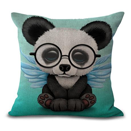 Дизайнерская подушка Панда