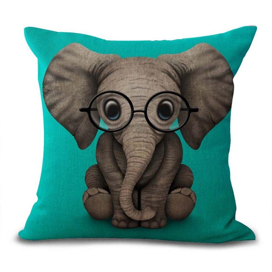 Дизайнерская подушка Слоник