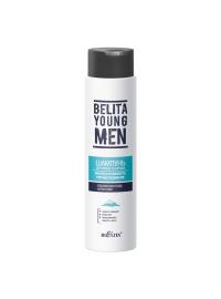 BELITA YOUNG MEN Шампунь для волос и бороды Чистота и свежесть горных ледников 400 мл