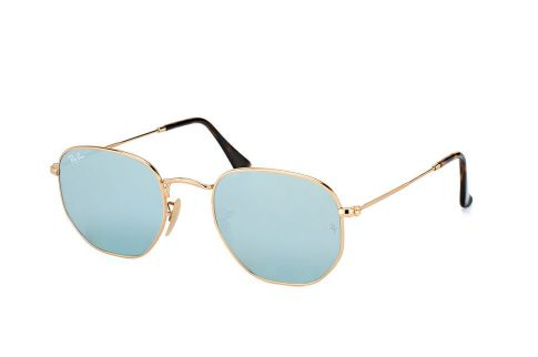 Ray Ban Round Hexagonal Flat Lenses RB3548N 001/30