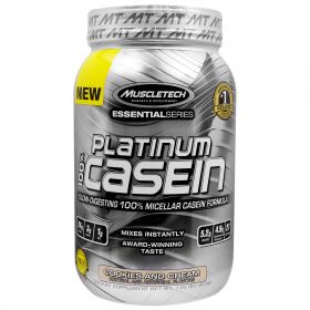 Muscletech 100% Platinum Casein (873 гр.)