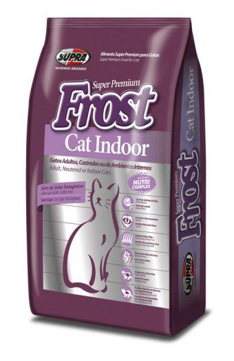 SUPRA FROST Cat Indoor для взрослых кошек, живущих в доме 7,5 кг
