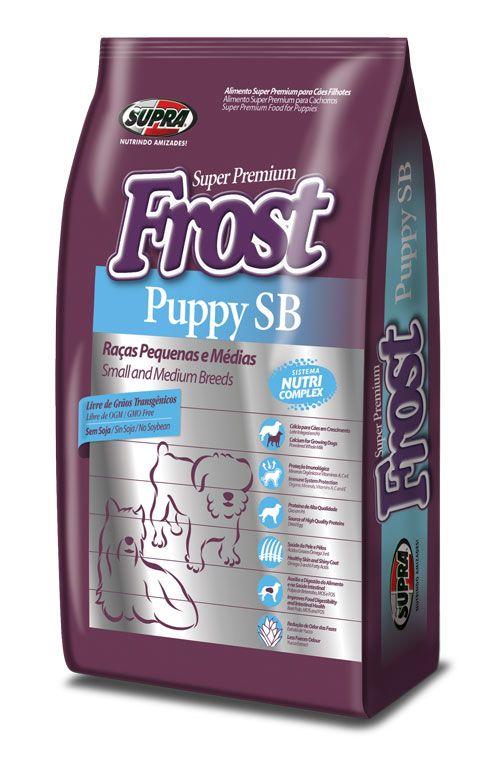 SUPRA FROST Puppy SB для щенков мелких и средних пород 3 кг