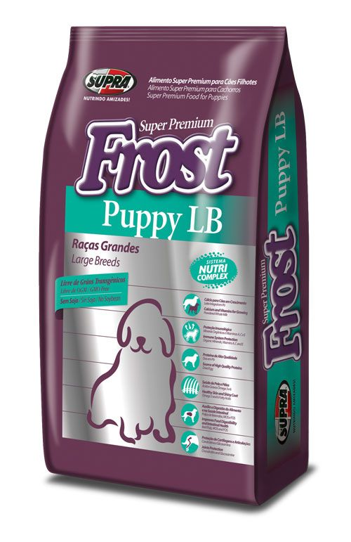 SUPRA FROST Puppy LB для щенков крупных пород 15 кг
