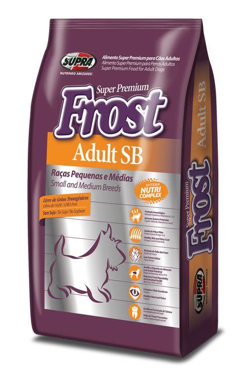 SUPRA FROST Adult SB для взрослых собак мелких и средних пород 14 кг