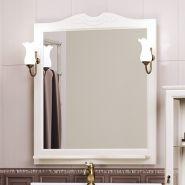 Зеркало с подсветкой Opadiris Клио 80 белый