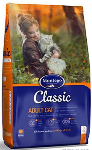 MONTEGO Classic для кошек 25 кг