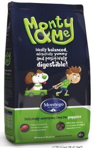 MONTEGO Monty&Me Для щенков всех пород 25 кг