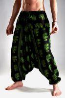 Мужские хлопковые штаны афгани с индийскими слонами, интернет магазин