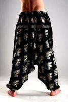 Мужские хлопковые штаны афгани со слонами, индийский интернет магазин