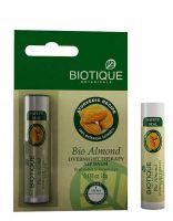 Бальзам для ночного ухода за кожей губ Биотик Миндаль | Biotique Bio Almond Overnight Therapy Lip Balm New
