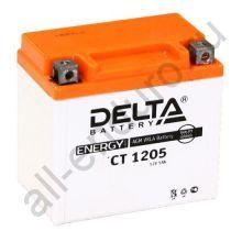 DELTA  CT 1205 YTX5L-BS (114 х 68 х 106)