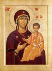 Смоленская икона БМ (Одигитрия)