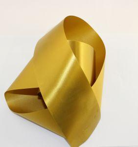 `Лента САТИН, ширина 65 мм, цвет золотой