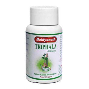 Трифала гуггул Baidyanath Triphala Guggulu, 80 таб