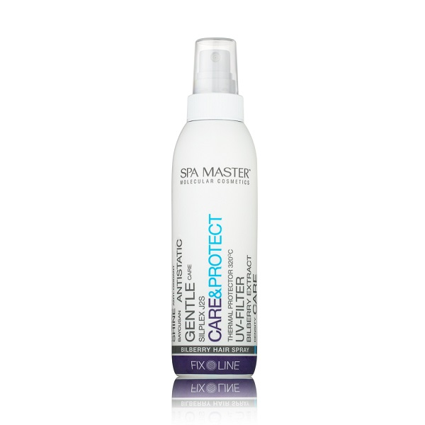 Спрей Care&Protect Bilberry Hair Spray для термозащиты