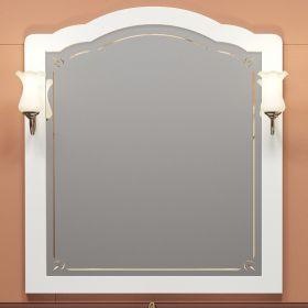 Зеркало с подсветкой Opadiris Лоренцо 100 белый
