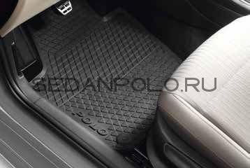 Ковры салона передние оригинал VAG Volkswagen Polo Sedan