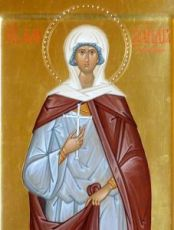 Александра Устюхина (рукописная икона)