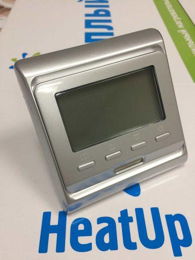 Терморегулятор RTC-51.716 для теплых полов (серебристый)