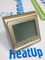 Терморегулятор RTC-91.716 для теплых полов (золотой)