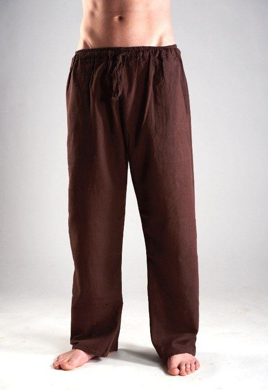 Прямые мужские штаны из органического хлопка (отправка из Индии)