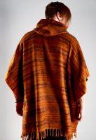 Теплое мужское пончо на осень, акриловая шерсть, интернет магазин. Доставка бесплатно