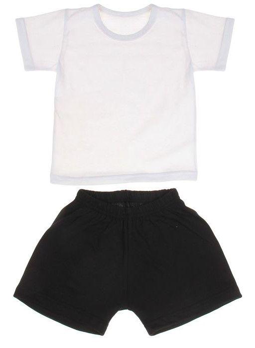 Комплект для мальчика из футболки и шорт