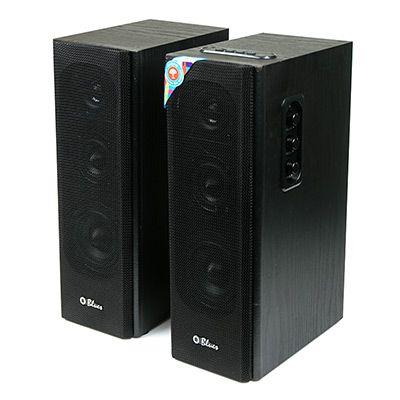 Мультимедийные колонки 2.0 Dialog Blues AB-45B BLACK 2*10W RMS, Bluetooth, USB+SD reader