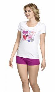 PFATH6705 Женский комплект футболка и шорты