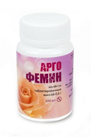 Конфеты с растительными экстрактами Аргофемин