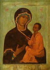 Тихвинская икона БМ (копия 16 века)