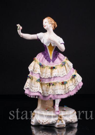 Изображение Балерина с цветком, Тюрингия, Германия, кон. 19 в