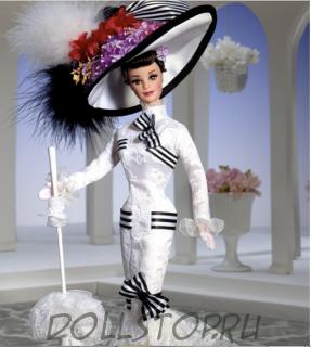 """Коллекционная кукла Барби как Элиза Дулиттл в фильме """"Моя прекрасная Леди"""" - Barbie Doll as Eliza Doolittle from My Fair Lady at Ascot"""