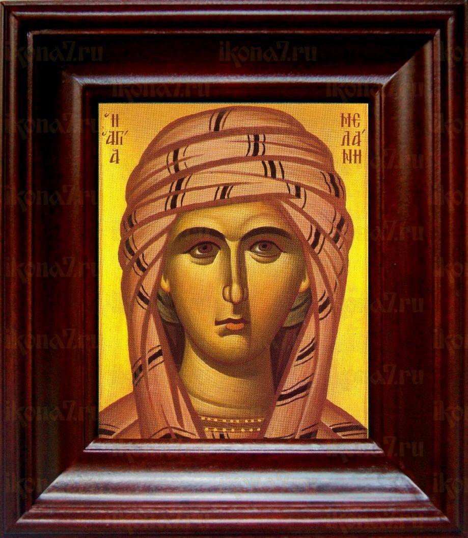 Мелания Римляныня (21х24), простой киот