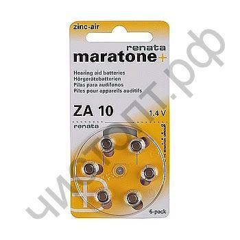 RENATA ZA 10 BL6 (для слуховых аппаратов)  (60)