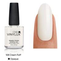 CND Vinylux Cream Puff 108 недельный лак, 15 мл