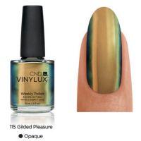 CND Vinylux Gilded Pleasure 115 недельный лак, 15 мл
