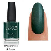 CND Vinylux Serene Green 147 недельный лак, 15 мл