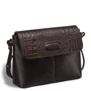 Женская сумочка через плечо BRIALDI Cristo (Кристо) brown