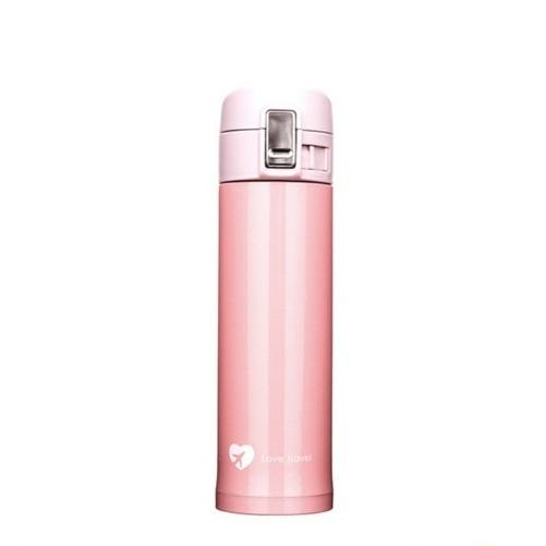 Термокружка 500 мл «Love Travel» - Cherry Pink