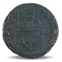 5 копеек 1784 года ЕМ