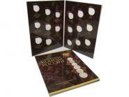 Альбом-планшет под Современные монеты России 1999-2017 гг. на 17 монет (обновленный)