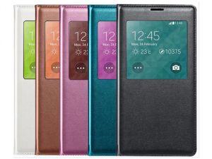 Чехол-книжка (View Cover) Samsung i9300 Galaxy S3 с окошком (white) Оригинал