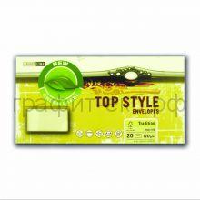 Конверт Smart Line Top Style tradition ivory слоновая кость 120г/м2 20шт 9961/12065