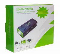 Автомобильное портативное пуско-зарядное устройство с пауэрбанком HIGH-POWER (5V-19V, 3.5A, 16800mAh)