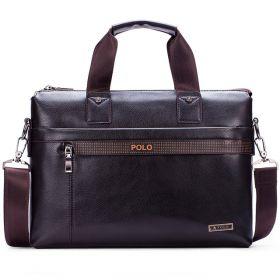 Мужская кожаная сумка (36*26 см)
