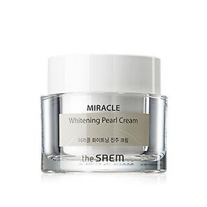 Корейский крем дневной осветляющий SAEM Miracle Whitening Pearl Cream